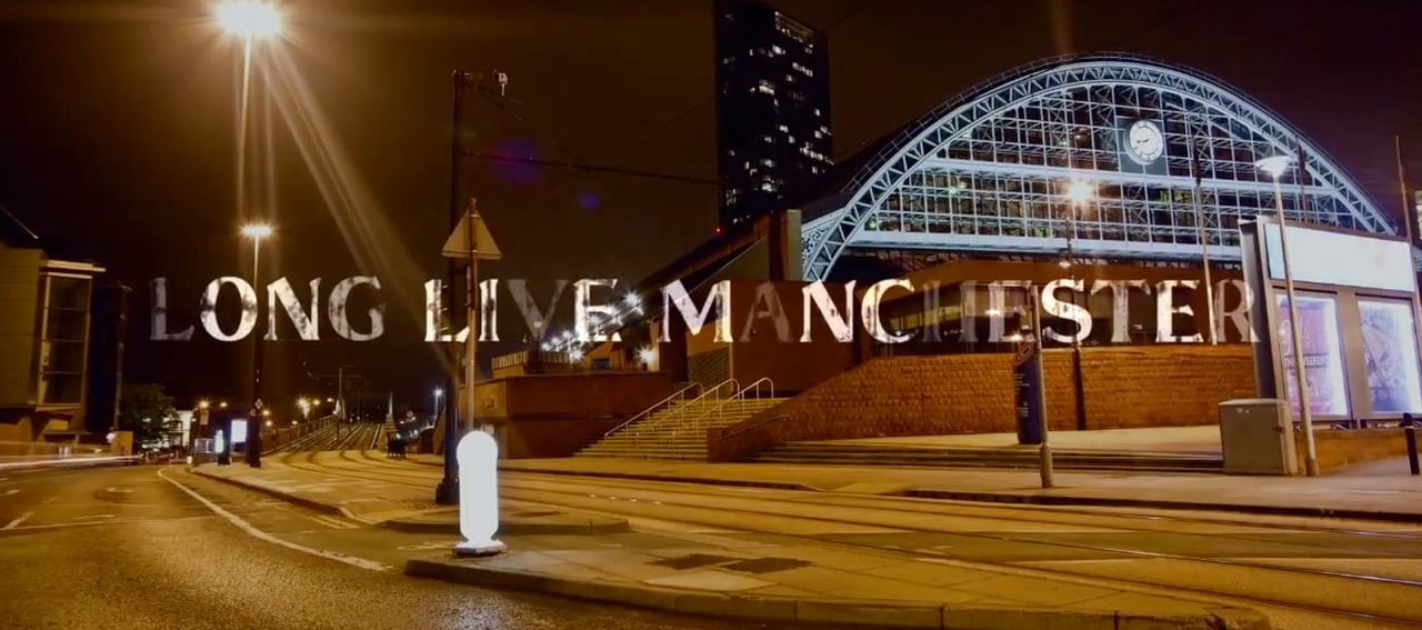 Design MCR- Long Live Manchester